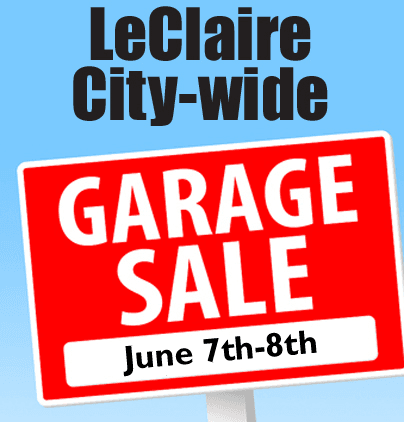 LeClaire City Wide Garage Sales
