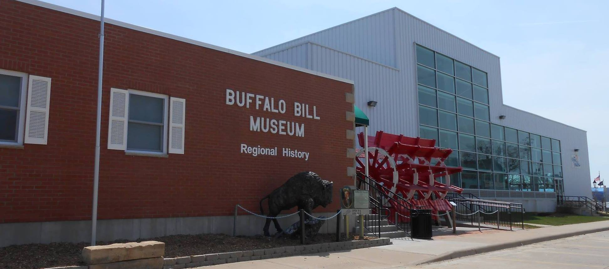 Buffalo Bill Museum Front of the Building