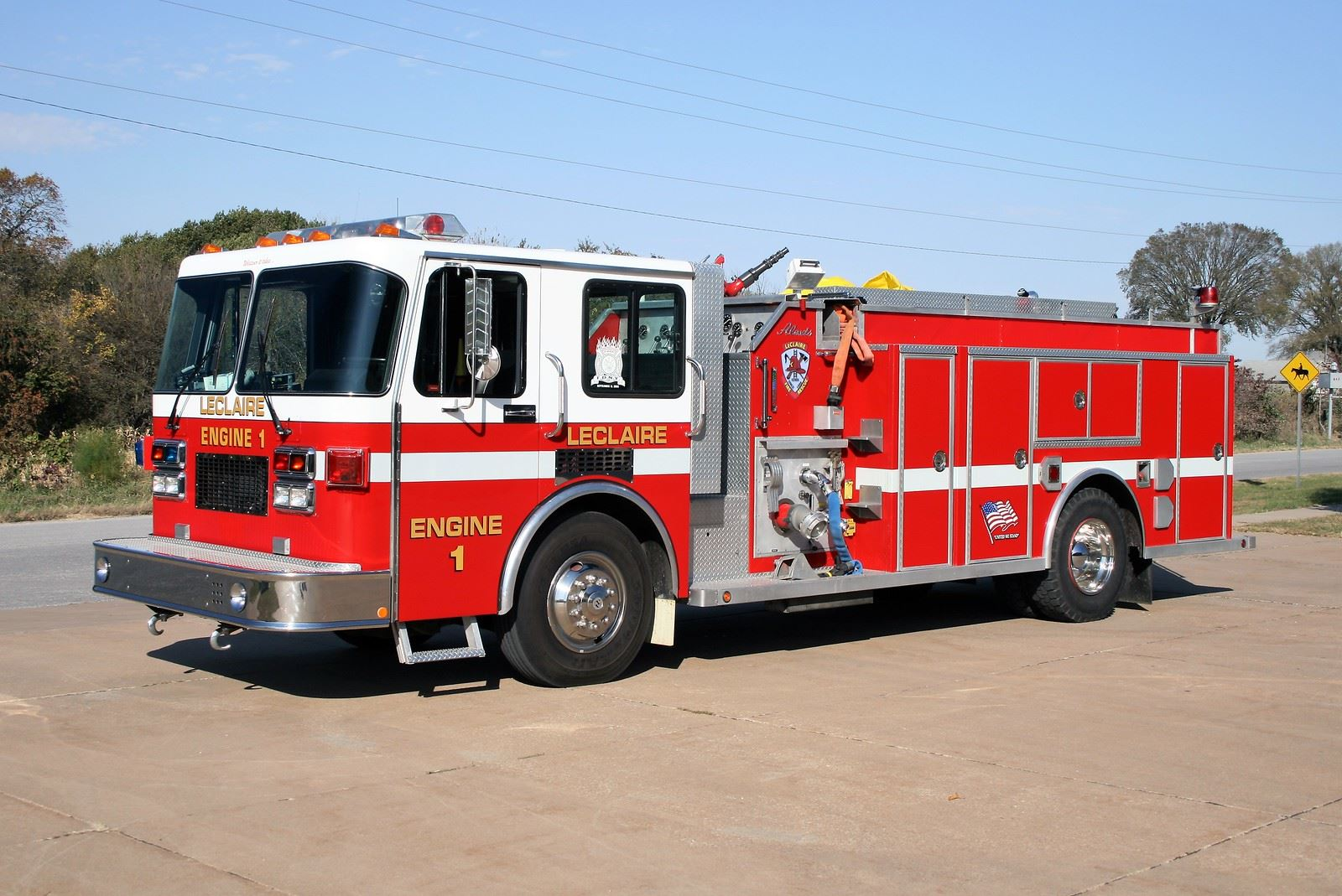 LECLAIRE FD ENGINE 1