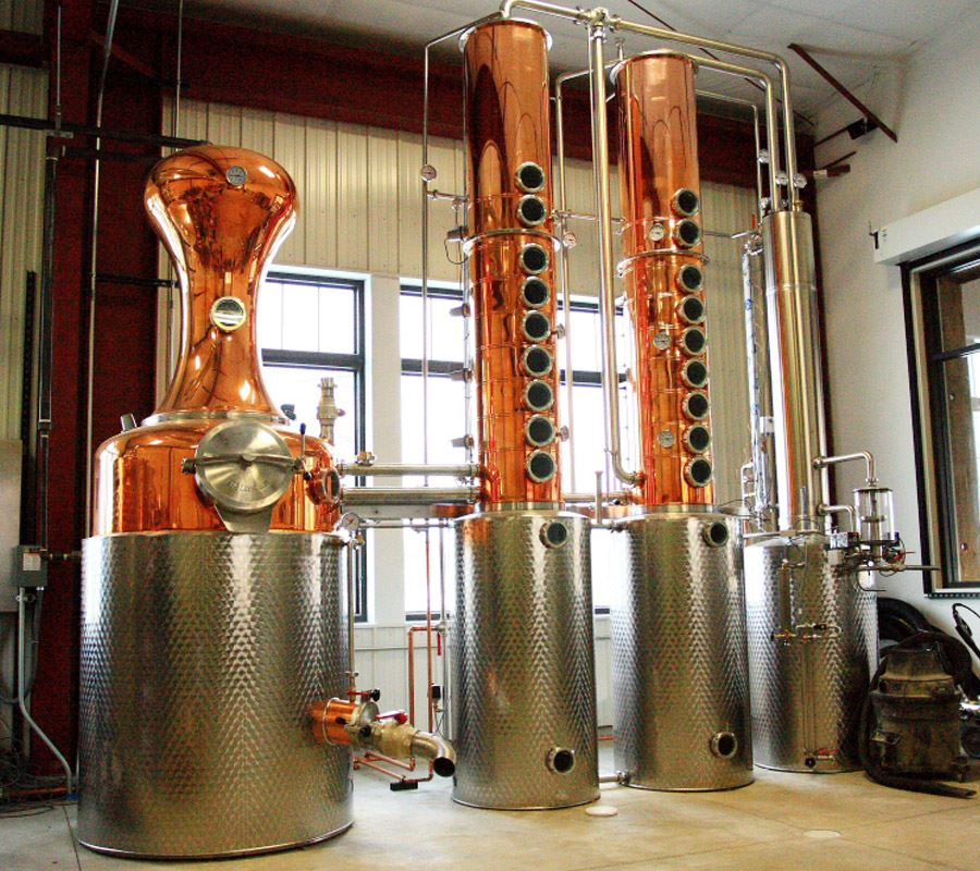 Mississippi River Distilling Still