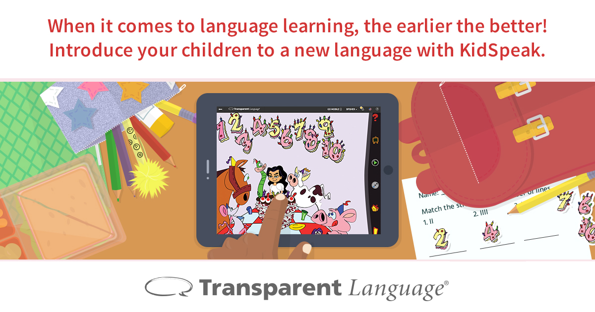 kidspeak-learn languages on line