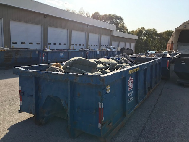 Citywide cleanup dumpsters 2019a